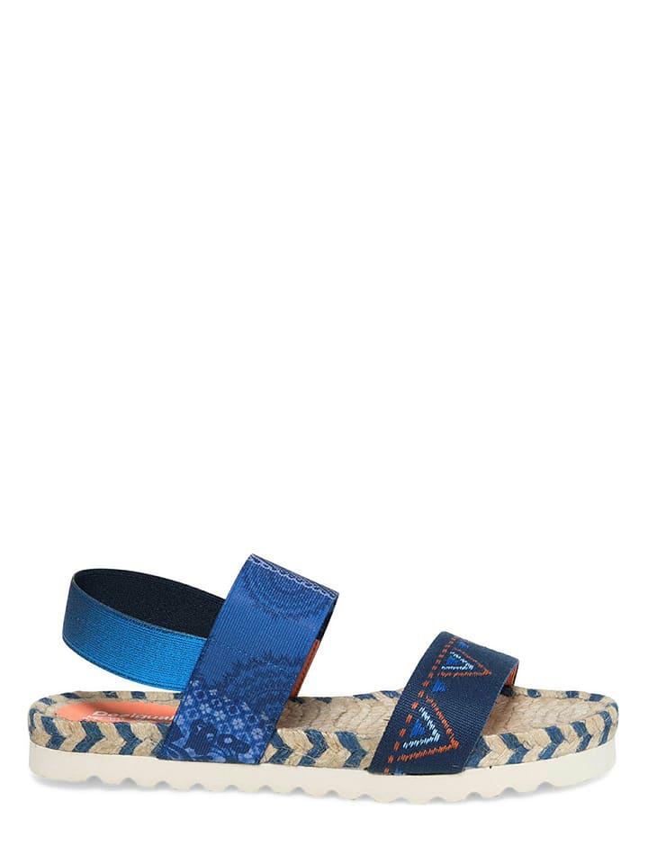 Desigual Sandalen in Blau