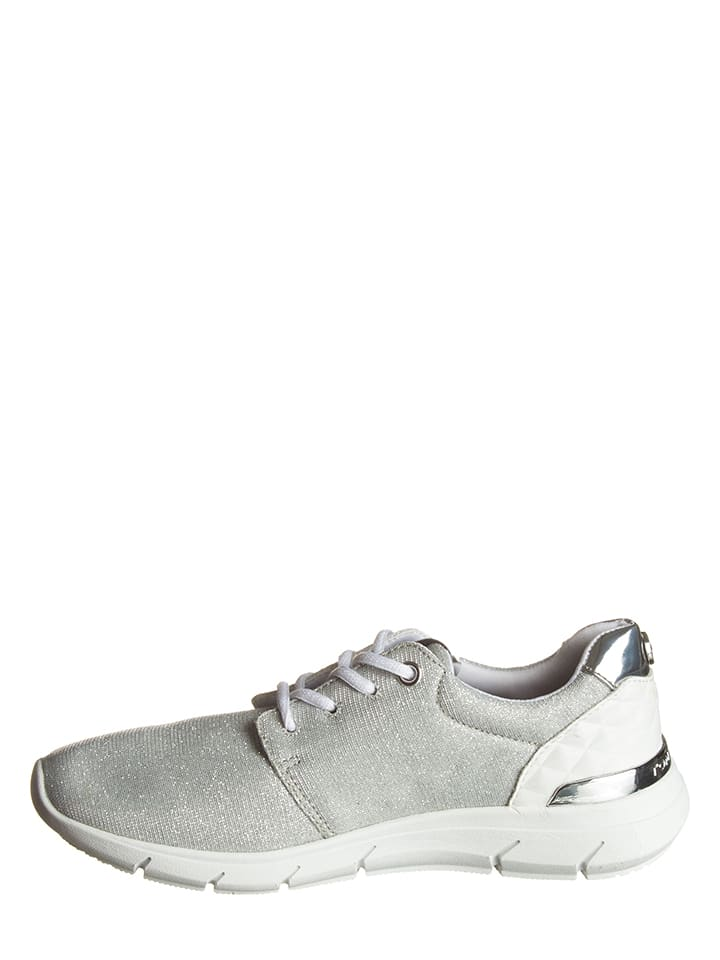 Tom Tailor Sneakers in Silber