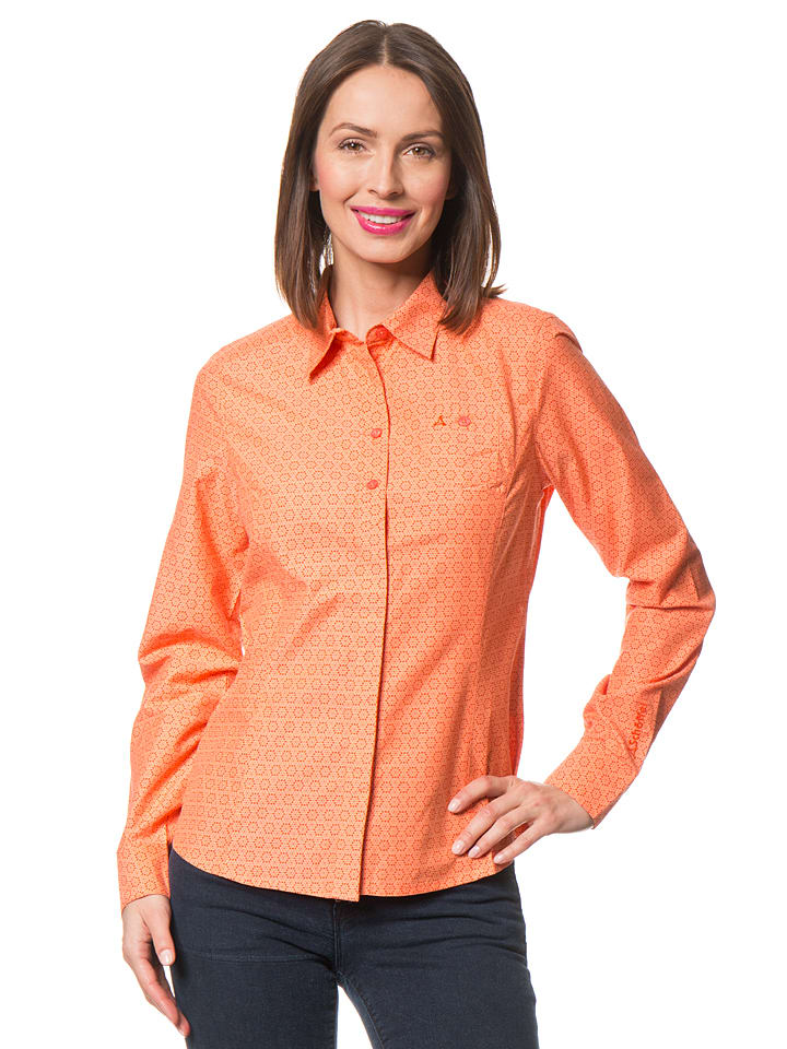 "Schöffel Bluse ""Riga"" in Orange"