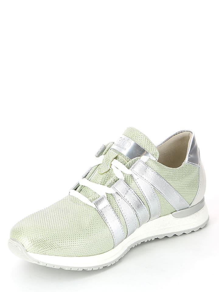 Grünland Sneakers in Mint/ Silber