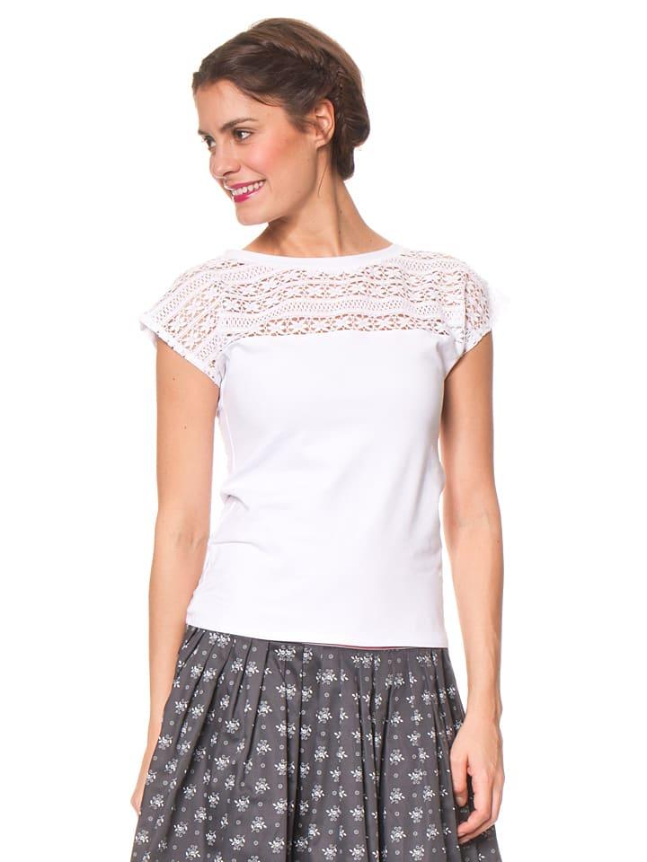 Berwin und Wolff Shirt in Weiß