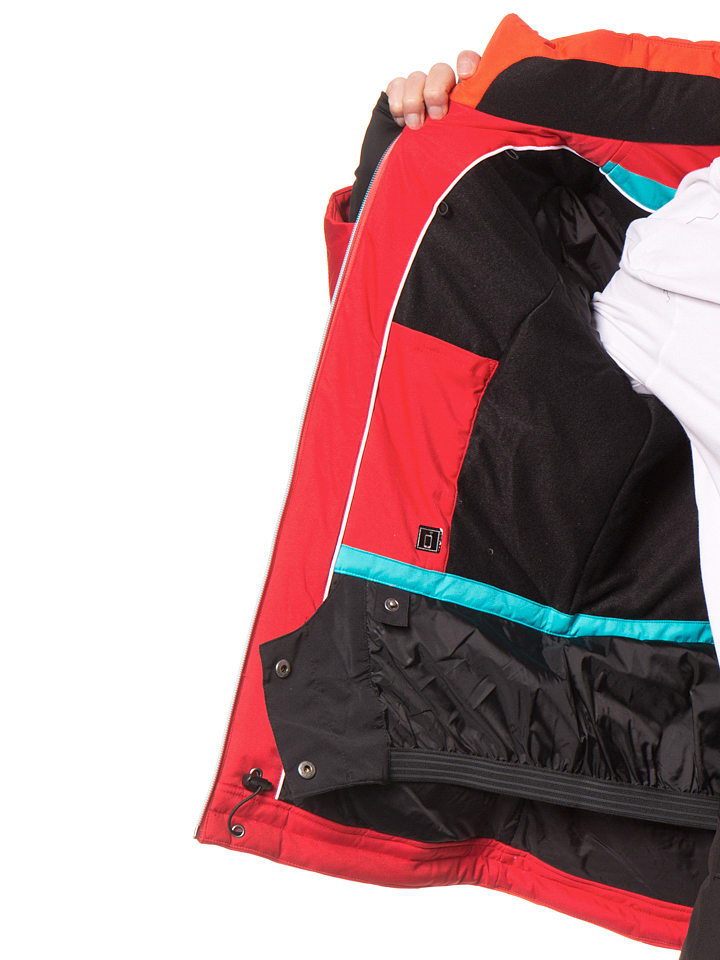 "Maier Sports Ski-/ Snowboardjacke ""Silver Star"" in Rot/ Orange"