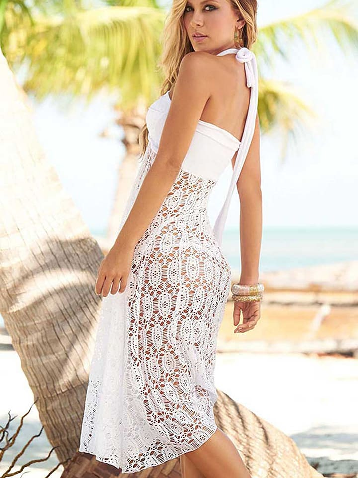 ROSE SALOME Strandkleid in Weiß