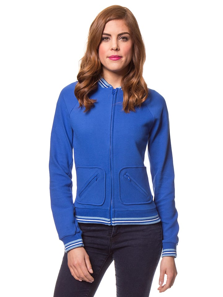 Bakery Ladies Sweatjacke in Blau
