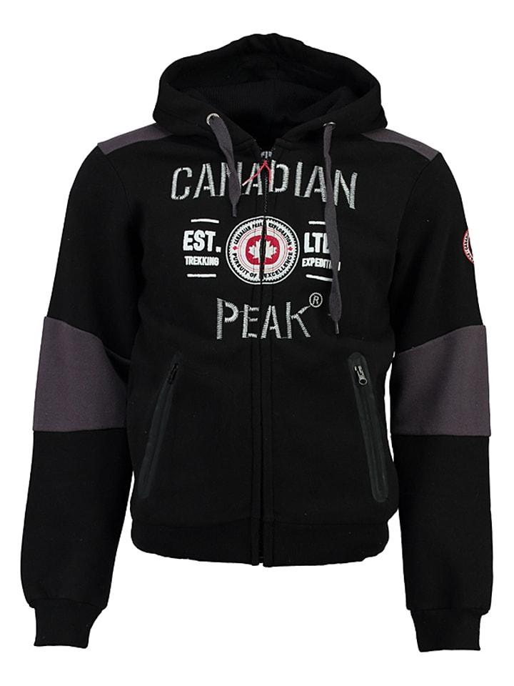 """Canadian Peak Sweatjacke """"Funtor"""" in Schwarz"""