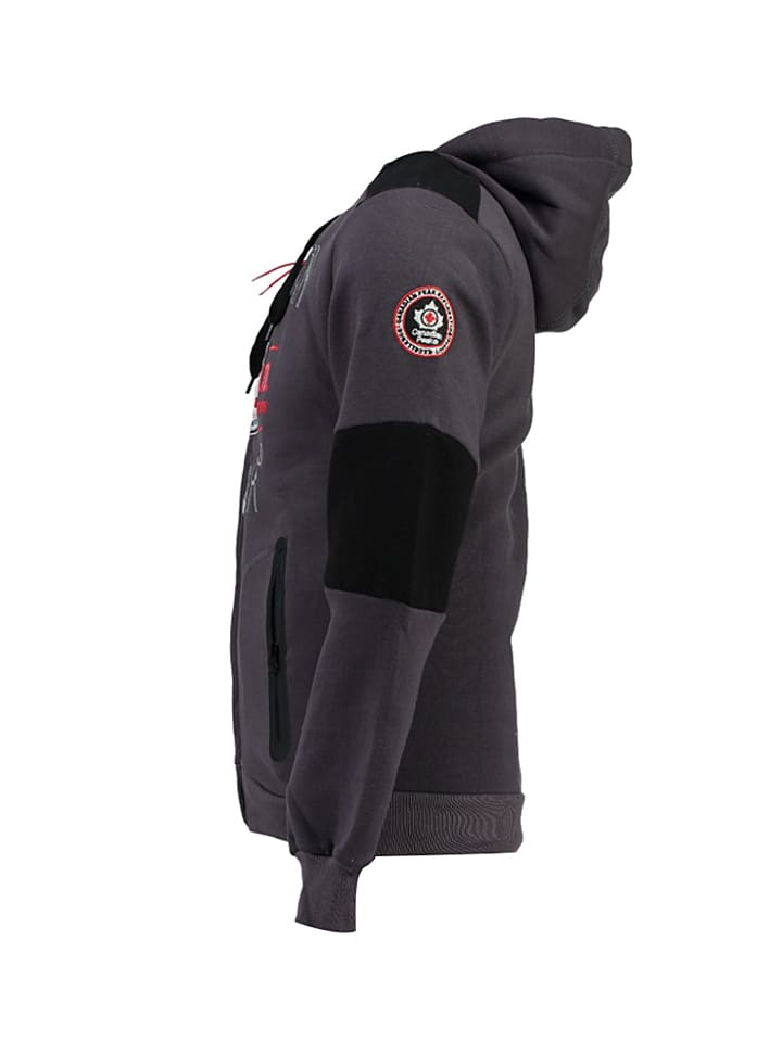 "Canadian Peak Sweatjacke ""Funtor"" in Anthrazit"