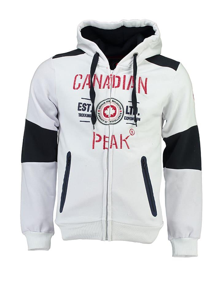 """Canadian Peak Sweatjacke """"Funtor"""" in Weiß"""