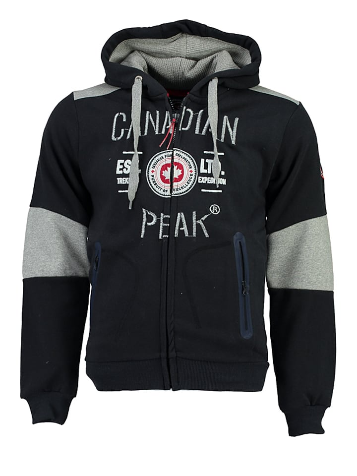 "Canadian Peak Sweatjacke ""Funtor"" in Dunkelblau"