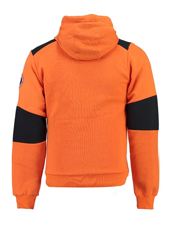 """Canadian Peak Sweatjacke """"Funtor"""" in Orange"""