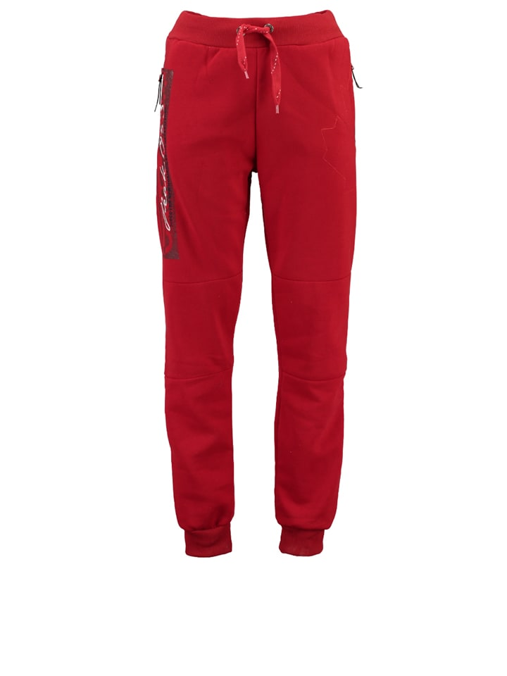 "Canadian Peak Sweathose ""Moratino"" in Rot"