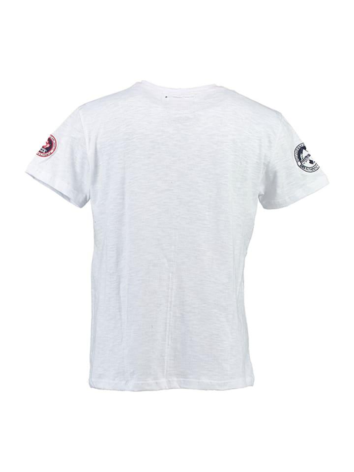 "Canadian Peak Shirt ""Jobenite"" in Weiß"
