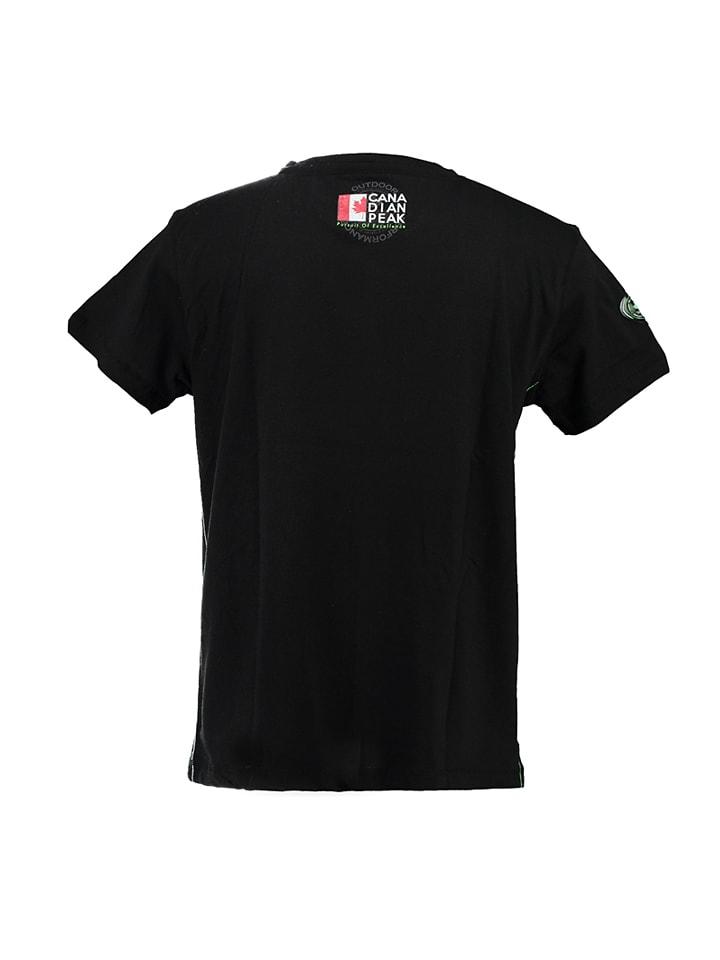 "Canadian Peak Shirt ""Jiltord"" in Schwarz"