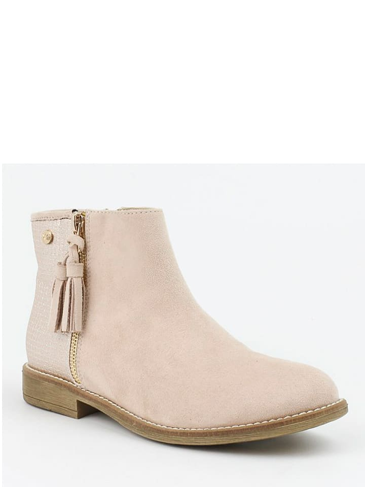 Xti Ankle-Boots in Beige - 58%