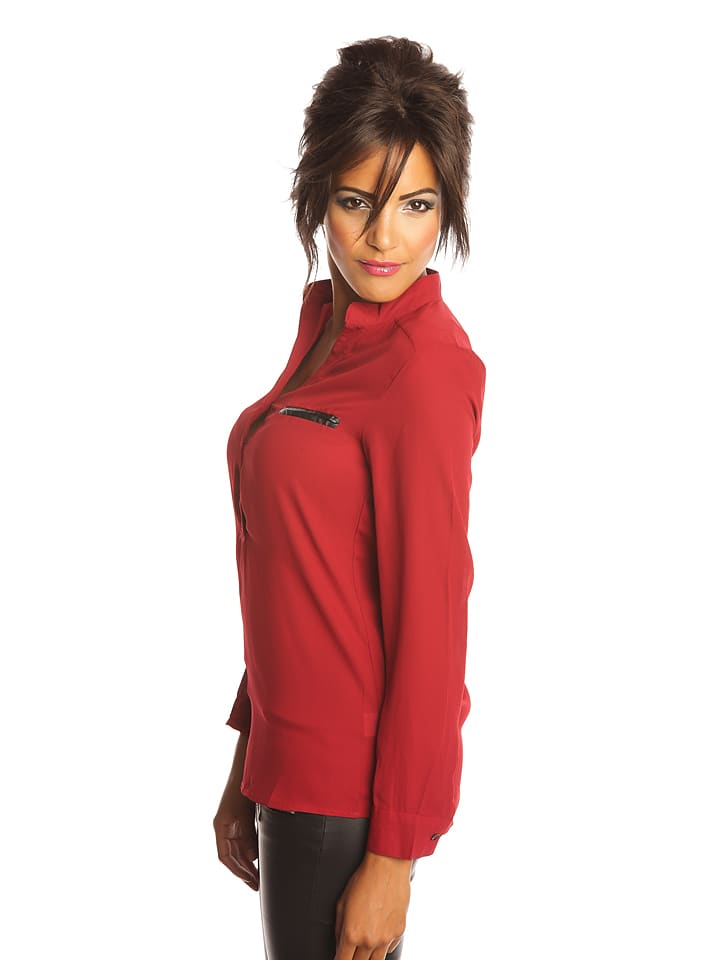 "Scarlet Jones Bluse ""Adeline"" in Bordeaux"