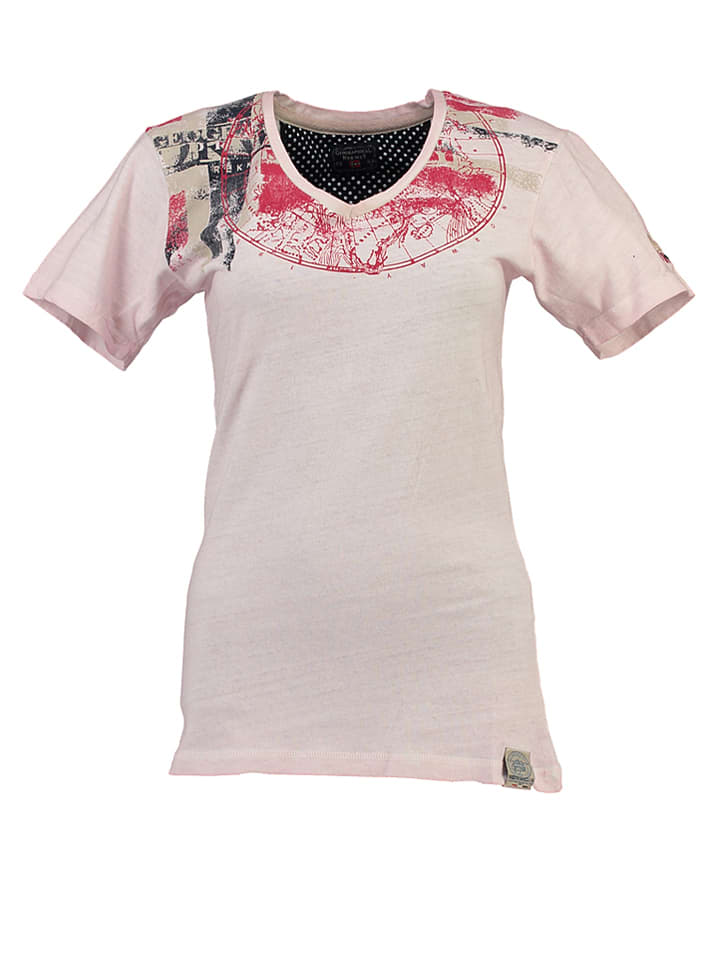 "Geographical Norway Shirt ""Jasmine"" in Rosé"