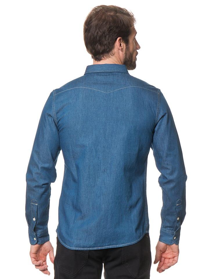 """Lee Jeans Hemd """"Western"""" in Blau"""