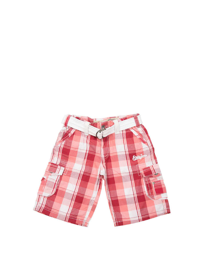RITCHIE Shorts in Rot/ Weiß
