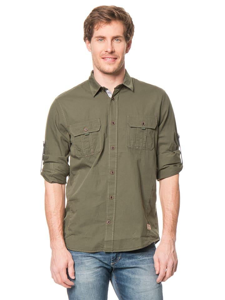 Tom Tailor Hemd in Khaki