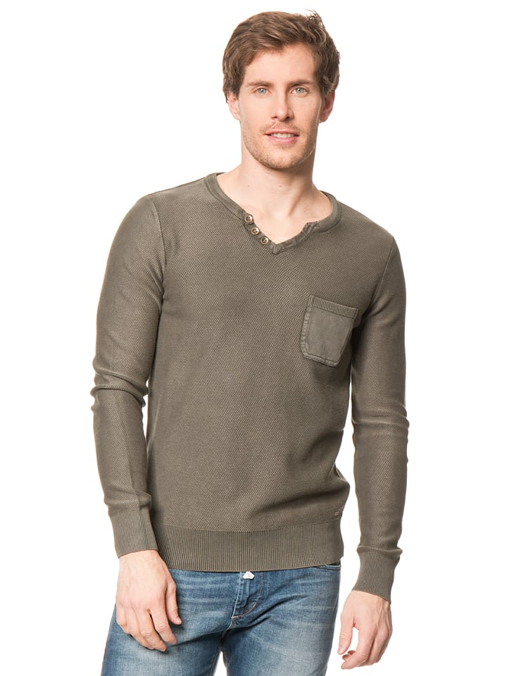 Tom Tailor Pullover in Grün