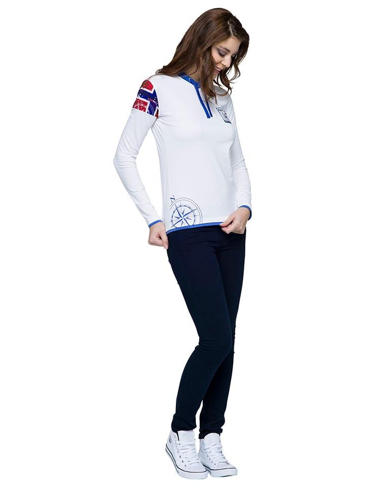 "Nebulus Sweatshirt ""Inuit"" in Weiß"