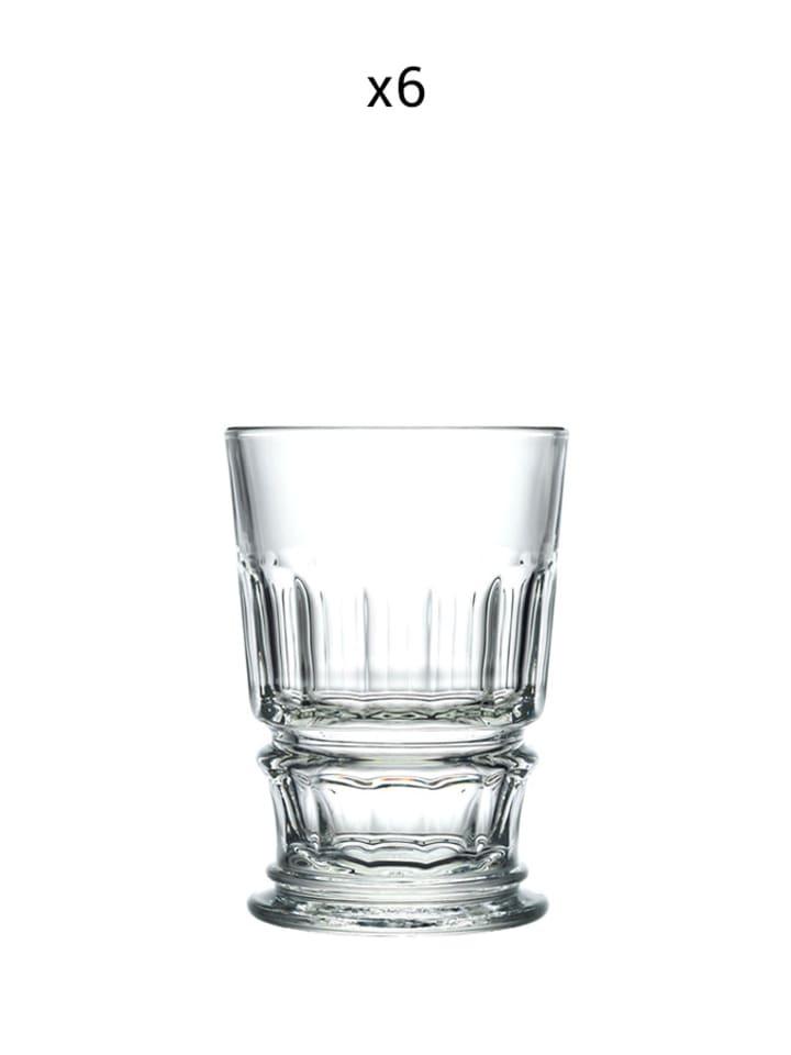 La Rochere Szklanka (6 szt.) w kolorze transparentnym - 370 ml