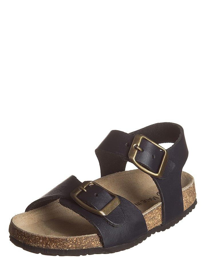 Little Sky Leren sandalen donkerblauw
