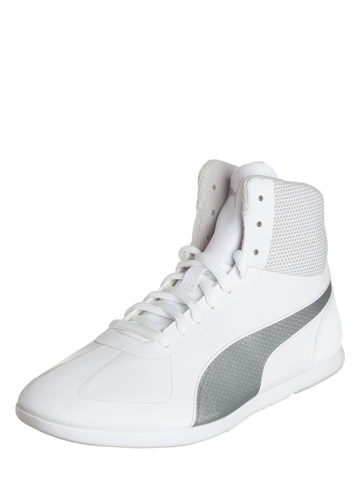 """Puma Sportschoenen """"Modern Soleil"""" wit/zilverkleurig"""