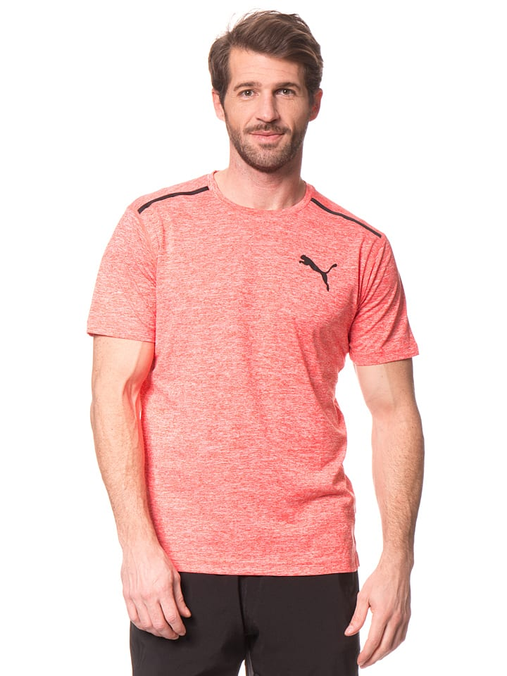 """Puma Funktionsshirt """"Bonded Tech"""" in Koralle"""