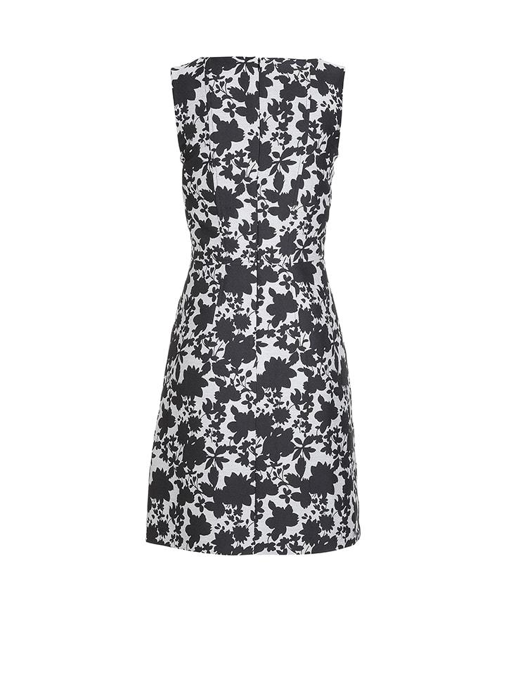 More & More Kleid in Schwarz/ Weiß/ Schwarz