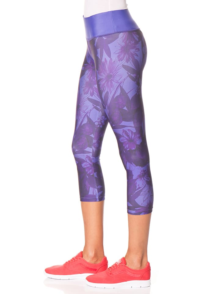 Desigual Sport Leggings in Lila