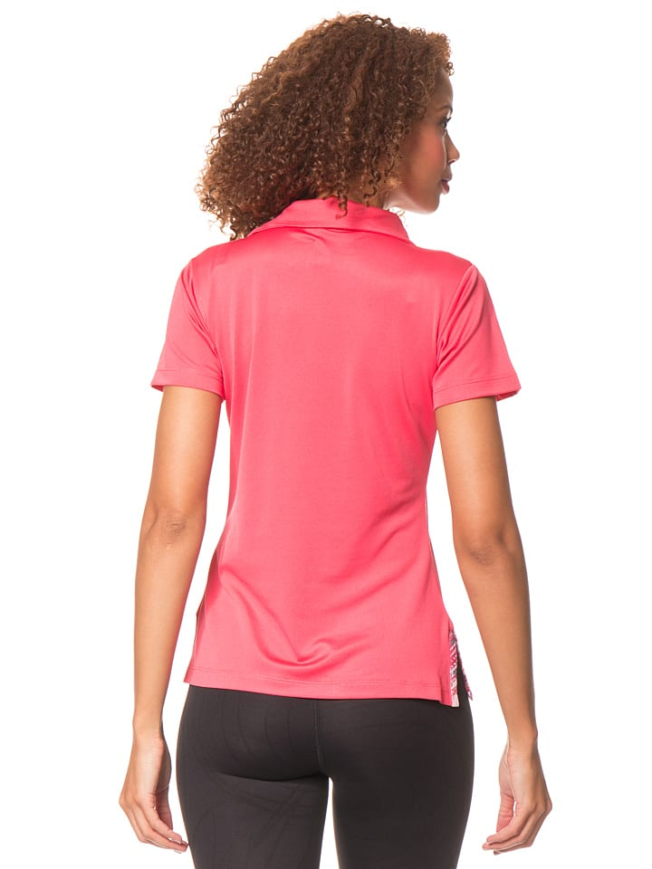 Desigual Sport Poloshirt in Pink
