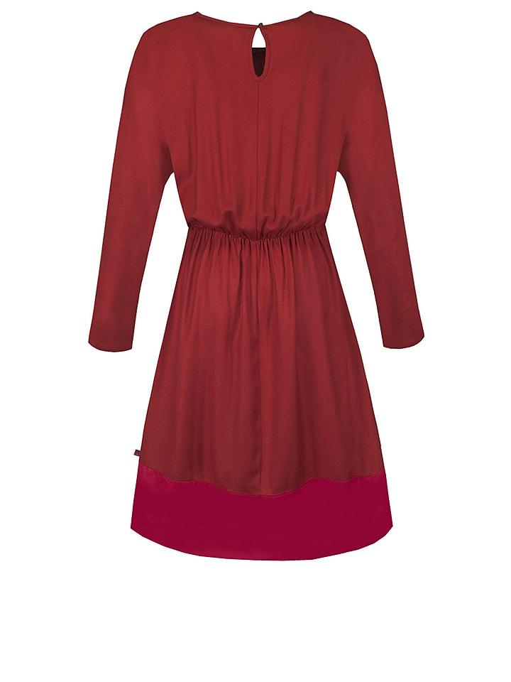 """Tranquillo Kleid """"Osmina"""" in Rot"""