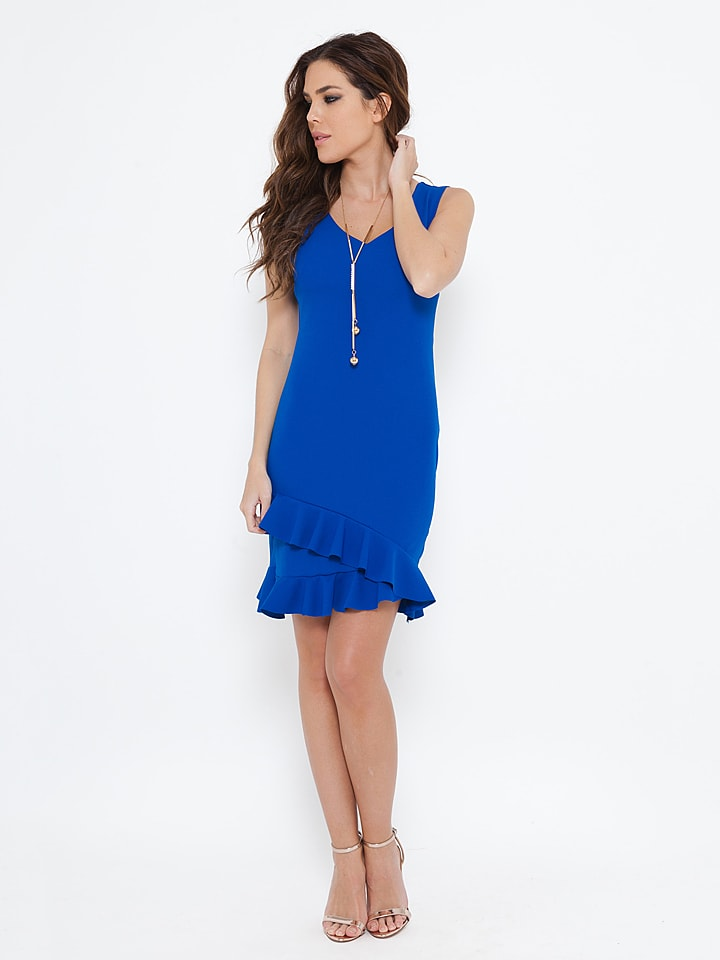 "She's Secret Kleid ""Aurelia"" in Blau"