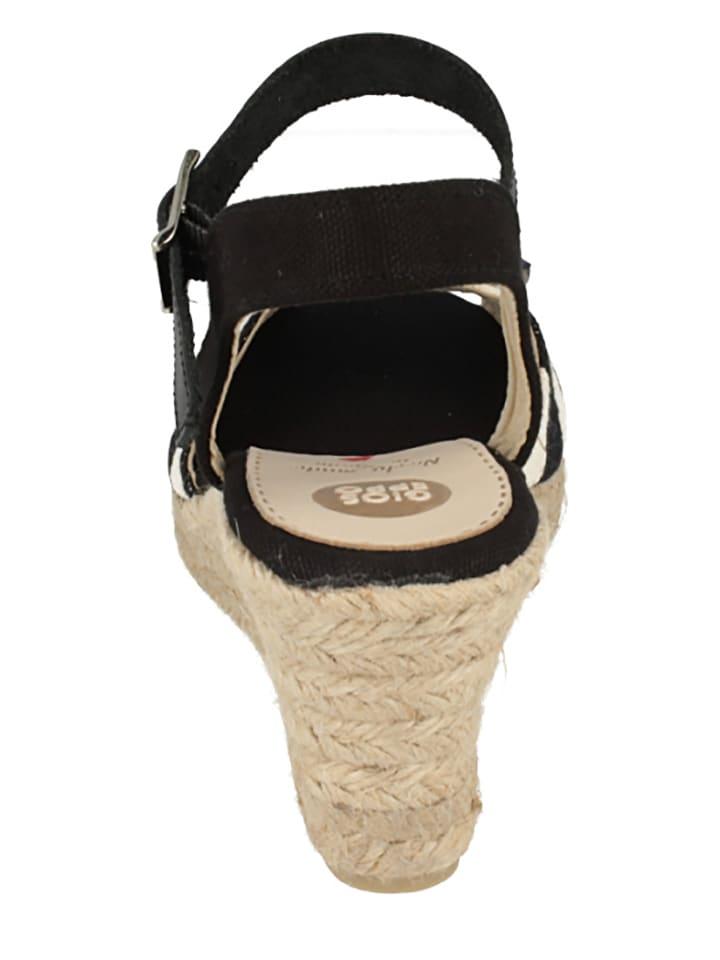 """Gioseppo Sandaletten """"Olbia"""" in Schwarz/ Beige"""
