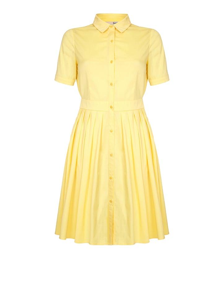 Yumi Kleid in Gelb