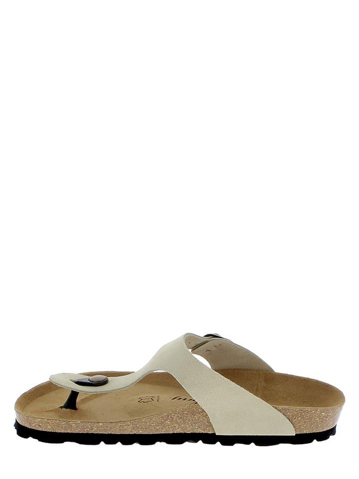 Sunbay Leder-Zehentrenner in Sand