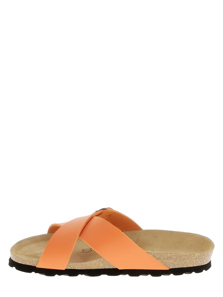 Sunbay Pantoletten in Orange