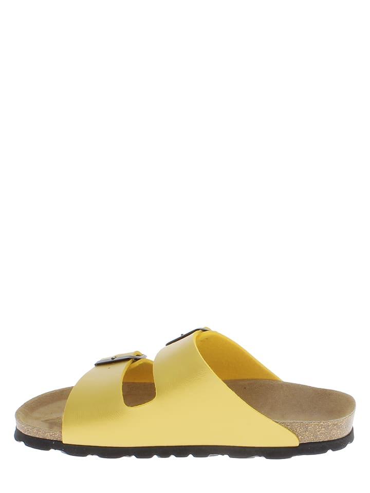 Sunbay Pantoletten in Gelb