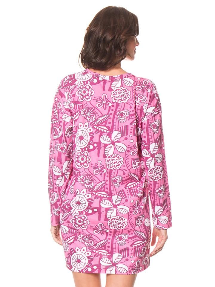 Dutch Bakery Nachthemd in Rosa/ Bunt