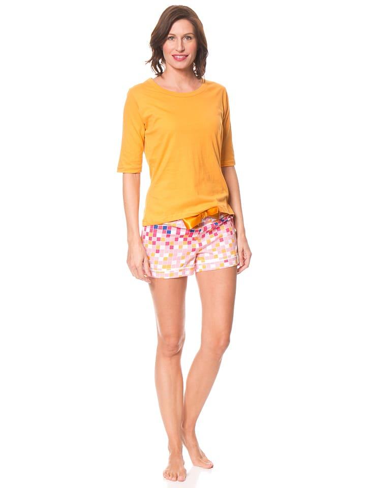 Dutch Bakery Pyjama in Orange/ Bunt