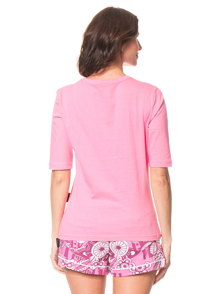 Dutch Bakery Pyjama in Rosa/ Bunt
