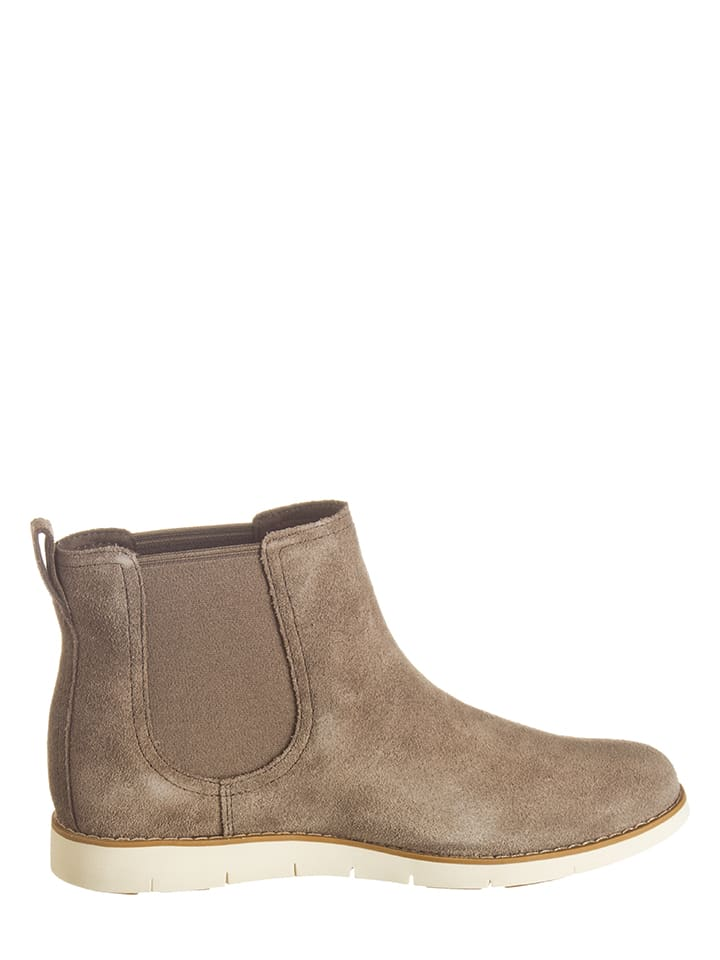 Timberland Leder-Chelsea-Boots in Beige