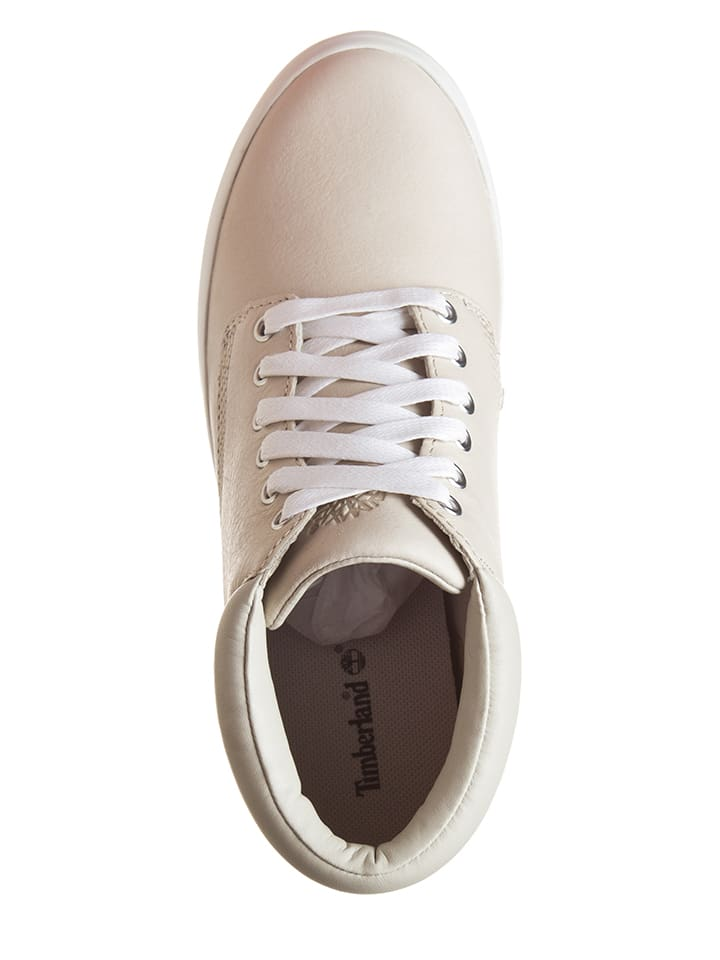 Timberland Leder-Sneakers in Weiß