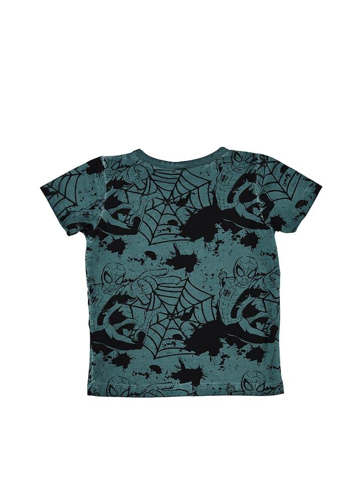 Name it Shirt Spiderman in Türkis/ Schwarz