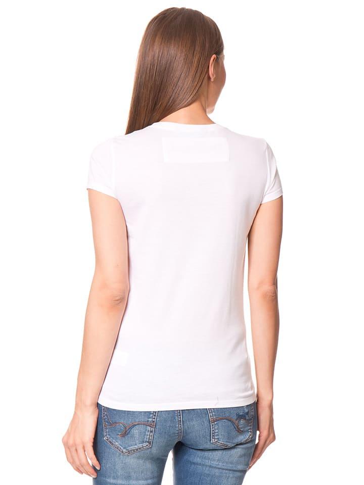 """Desigual Shirt """"Mary"""" in Weiß/ Bunt"""