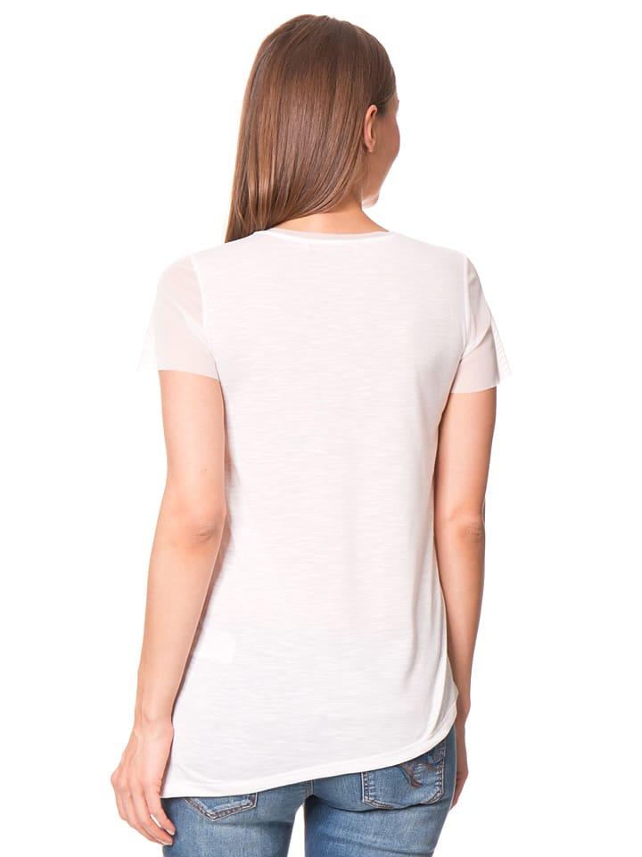 Desigual Shirt Asimetric Polynesia in Creme/ Bunt