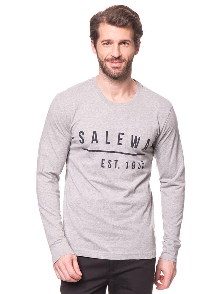 """Salewa Longsleeve """"Binne"""" in Grau"""