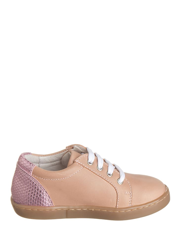 Kmins Leder-Sneakers in Rosé - 65%