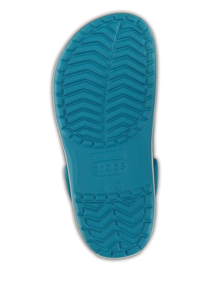 "Crocs Clogs ""Crocband"" in Türkis"