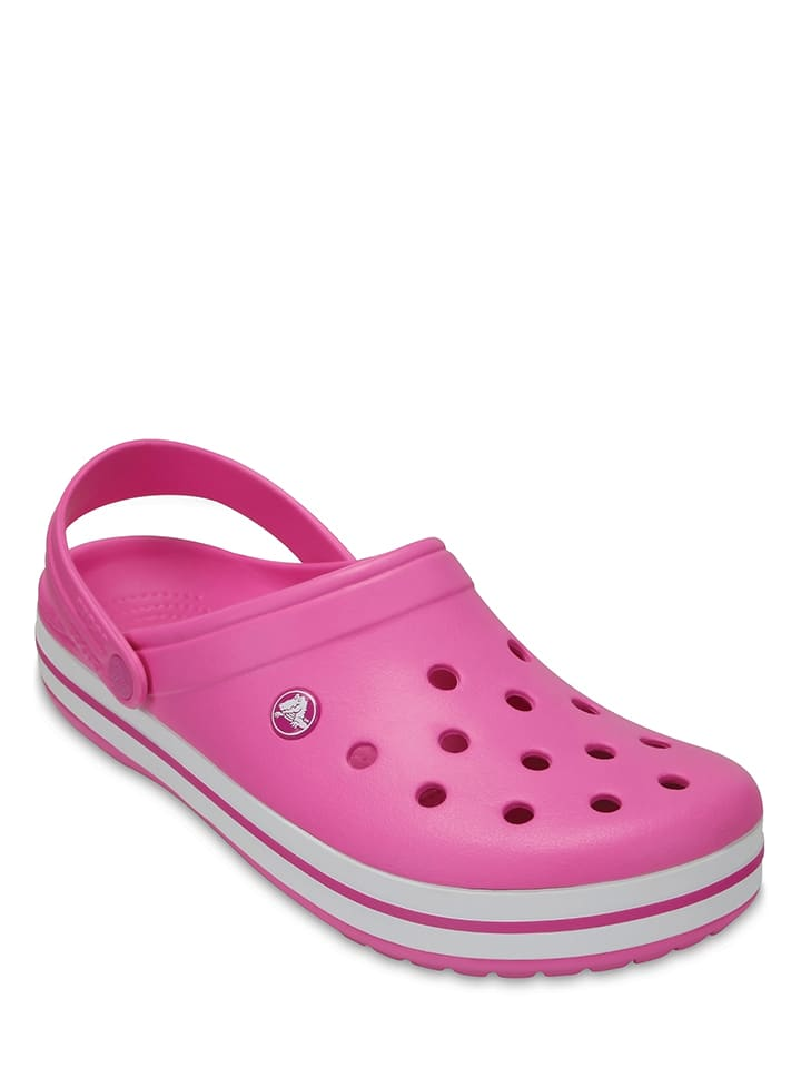 "Crocs Clogs ""Crocband"" in Pink"